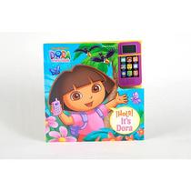 Teléfono Celular Libro - Dora La Exploradora
