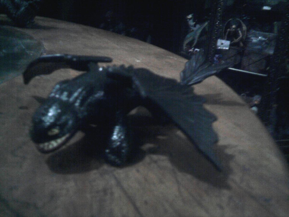Dragón Chimuelo Furia Nocturna Como Entrenar A Tu Dragón 4 - $ 250