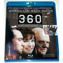 Blu-ray 360 Juego De Destinos (2011) Anthony Hopkins, Op4
