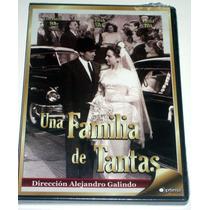 Dvd Una Familia De Tantas (1948) Fernando Soler, David Silva
