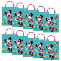 Minnie Mouse Party Bolsas De Mano Conjunto De 10
