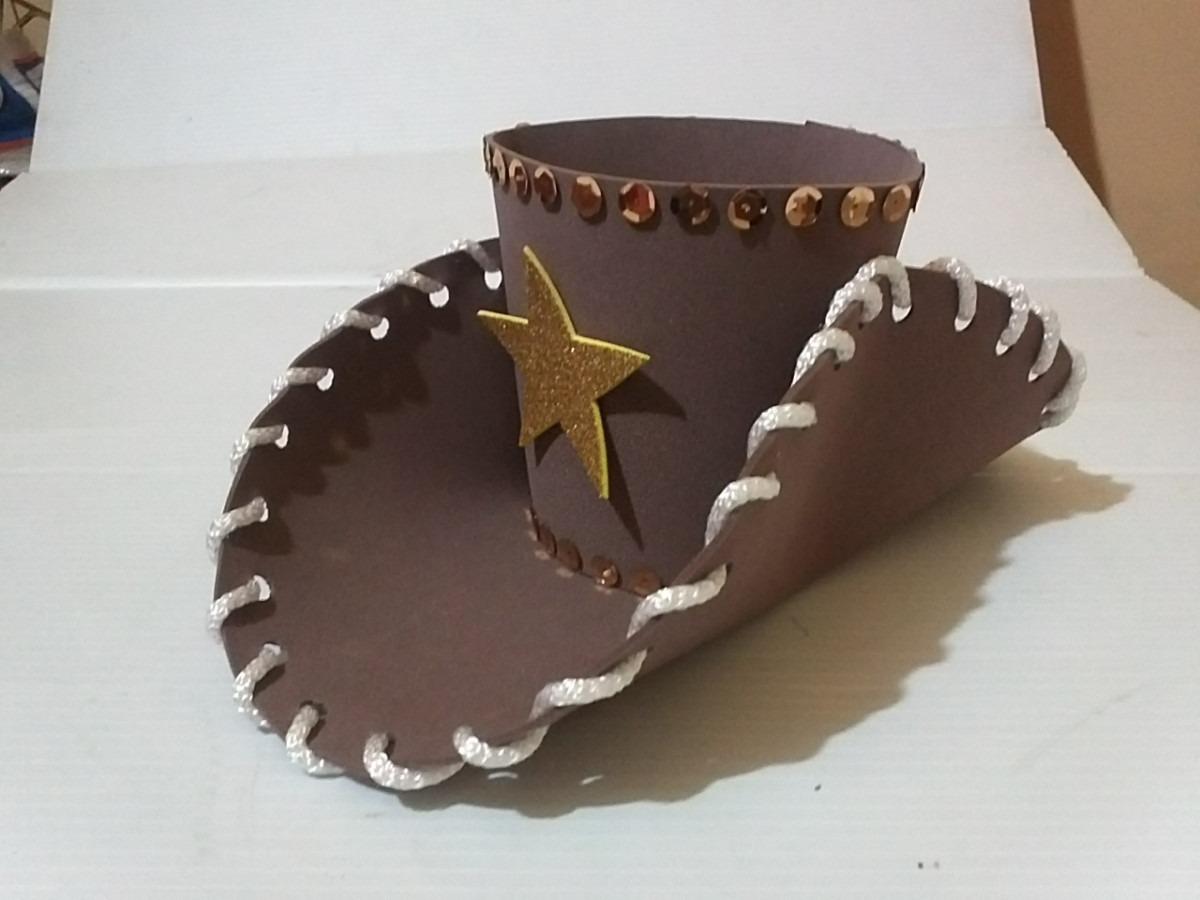 Como hacer el sombrero de woody de Toy Story - Imagui