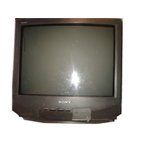 Tv Gamecube Sony Kv-21 Para Dvd Practicamente Plana No Lcd