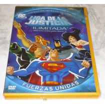 Dvd Liga De La Justicia Ilimitada Fuerzas Unidas ¡rebajado