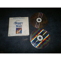 Beauty And The Beast,pelicula En Formato Laser Disc
