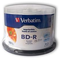 Campana Blu-ray Imprimible Verbatim Bd-r 6x 25gb 50 Discos