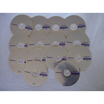 14 Discos Blu-ray Bd-r 25 Gb Panasonic Nuevos