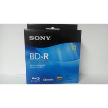 Blu-ray Disc Sony 25 Gb 1-6x Campana Con 10 Pzas