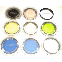 10pack Nikon Canon Lentes Filtro Color Bifocal Navidad 58