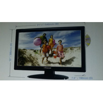 Combo Tv Dvd Hdtv 22 Lcd Sintonizador Digi Polaroid Naviadad