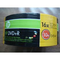 30 Dvd -r 4.7gb 16x 120min Disco Hp Video- Fotos-datos
