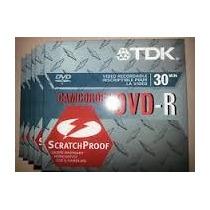 Remato Mini Dvd-r Tdk Lote De 20 Piezas Para Grabar