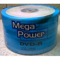 Dvd-r Megapower 50 Discos