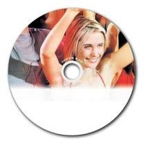 100 Disco Dvd Imprimible Print 4.7gb Fullface Varias Marcas