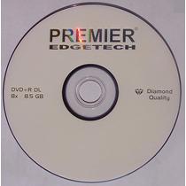10 Discos Dvd+r Dl Doble Capa Premier 8.5 Gb Virgen