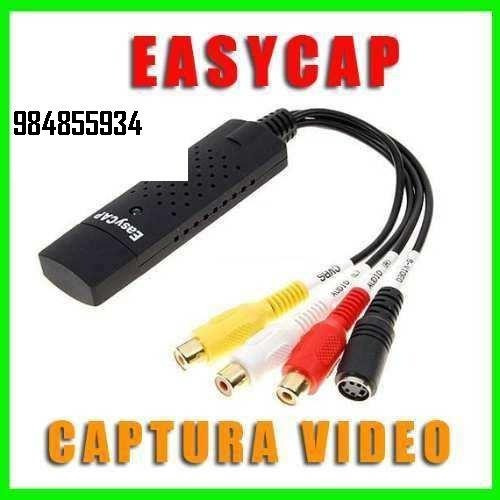 Easycap Tarjeta Capturadora De Audio Y Video Usb 2.0 S-video