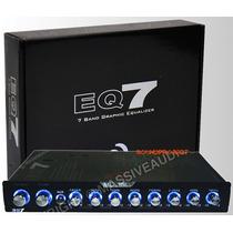 Eq7 E7 Ecualizador 7 Bandas Con Linedriver+xover Doble Ilumi