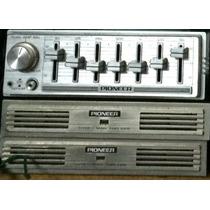 Ecualizador Y 2 Amplificadores Pioneer Old School