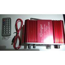 Amplificador Hi-fi Auto Radio Fm Usb,sd,auxiliar Control