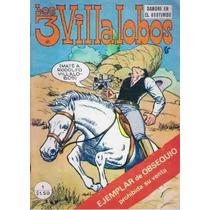 Comics Numero 1 Los 3 Villalobos Antiguo Vintage
