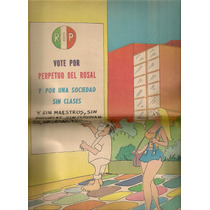 Comic Los Supermachos Con Raro Póster Central 1975 Hlw