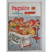 1972 La Familia Burron #17094 Paquito Gabriel Vargas Comic