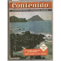 Revista Contenido Olimpiada México Telegrama Zimmermann 1964
