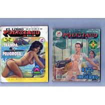 Tlax Lote De Comics De El Libro Policiaco Novedades Editores