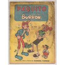 Comic Paquito La Familia Burrón Gabriel Vargas De 1957