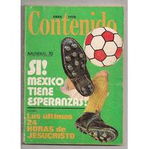 Lote 3 Revistas Mundial Futbol México 1970