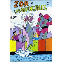 Comic Zor Y Los Invencibles # 131 Tamaño Grande De Editormex