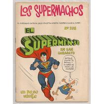 Rarísimo Comic Supermán Los Supermachos Rius Novaro De 1969