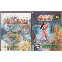 Comics Antiguos De Terror El Libro Negro Oculto Hechizos Daa