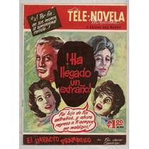 Raro Fotocomic La Telenovela Mexicana # 1 Tele Radio 1962