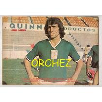 Comic Chanoc Futbol Poster Jorge Davino León La Fiera 1973