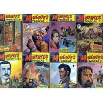 Tlax Lote De Comics Muertes Trágicas (personajes Históricos)