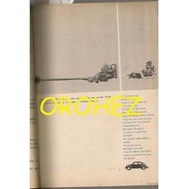 Revista Contenido Volkswagen Juan Orol Evita Muñiz 1965
