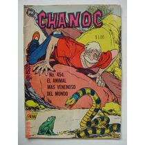 Chanoc Aventuras De Mar Y Selva # 454 Original Comic 1968