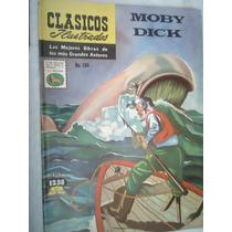 Clásicos Ilustrados Moby Dick Edic 1974