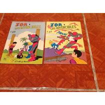 Comic Zor Y Los Invencibles Editirmex Anos 70s