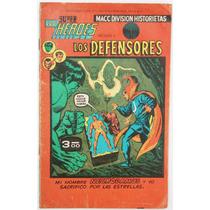Super Heroes No 3 Los Defensores 1976 Ed Macc Division Hm4