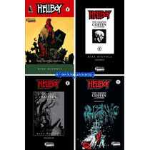 Bruguera Comics Hellboy 1 2 3 4 Hell Boy The Chained Coffin