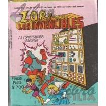 Comics Zor Y Los Invencibles (1980-1990), Editormex