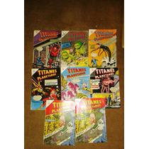 Comics De Titanes Planetarios,novaro Grande, Varios Numero