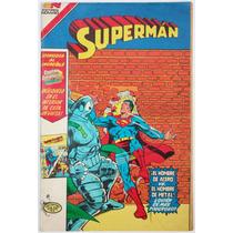 Superman # 123 El Hombre De Metal Novaro Serie Avestruz
