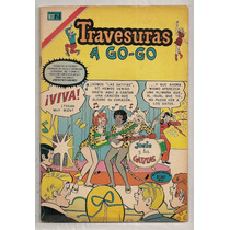 Comics Travesuras A Go-go Con Posters Archi Novaro 1970