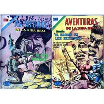 Tlax Lote De Comics Aventuras De La Vida Real Aguila Novaro