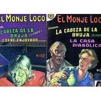 Tlax - Lote De Comics De Terror Del Monje Loco De Novaro