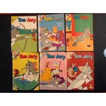 Comic Tom Y Jerry Serie Aguila Novaro 6 Diferentes