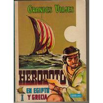 Libro Comic: Grandes Viajes Año: 1973. $ 200.00 Tomo Iv